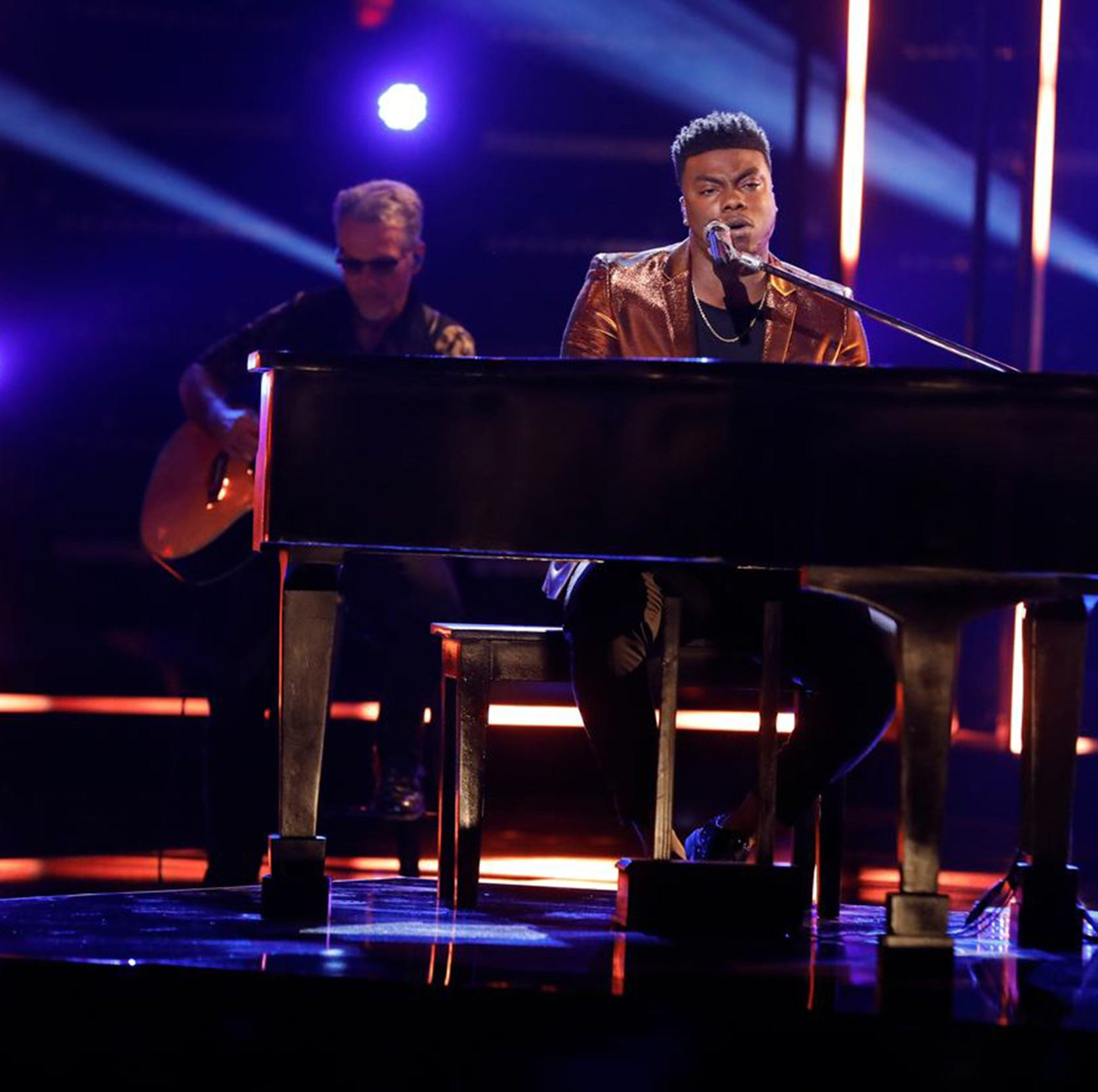 'The Voice' top 8: Yes, there's a 'Tomorrow' for Montgomery singer Kirk Jay