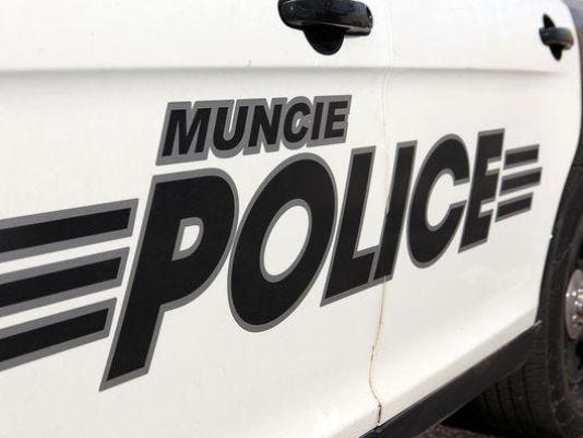 Muncie police car