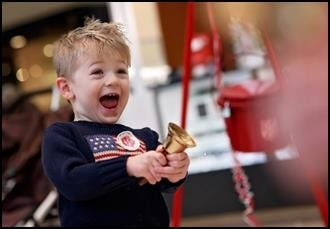 The Salvation Army needs bell ringers.