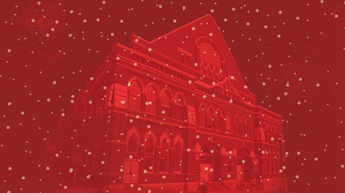 Celebrate the Holidays with a Ryman Tour