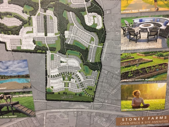 Stoney Farms is a planned development in Lebanon for approximately 1,200 homes.
