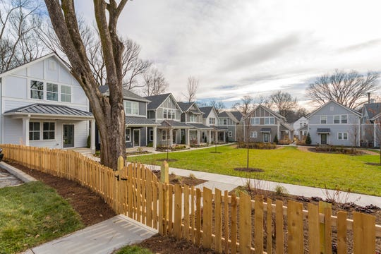 The central green space encourages residents of Woodland Grove to connect with one another.