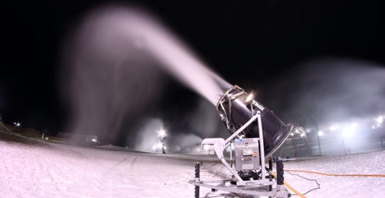 One of the Midwest's most powerful snowmaking systems ensures that conditions are always nice, no matter the weather, at Hidden Valley Ski Resort.