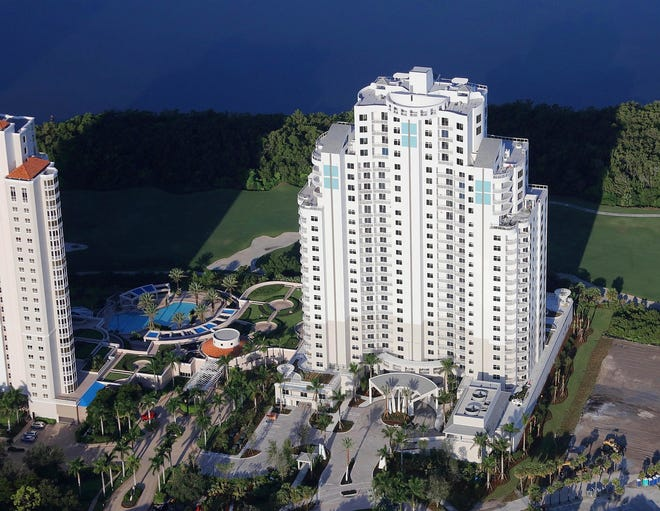 The Ronto Group has completed construction of its 26-floor, 120-unit Seaglass luxury high-rise tower at Bonita Bay.