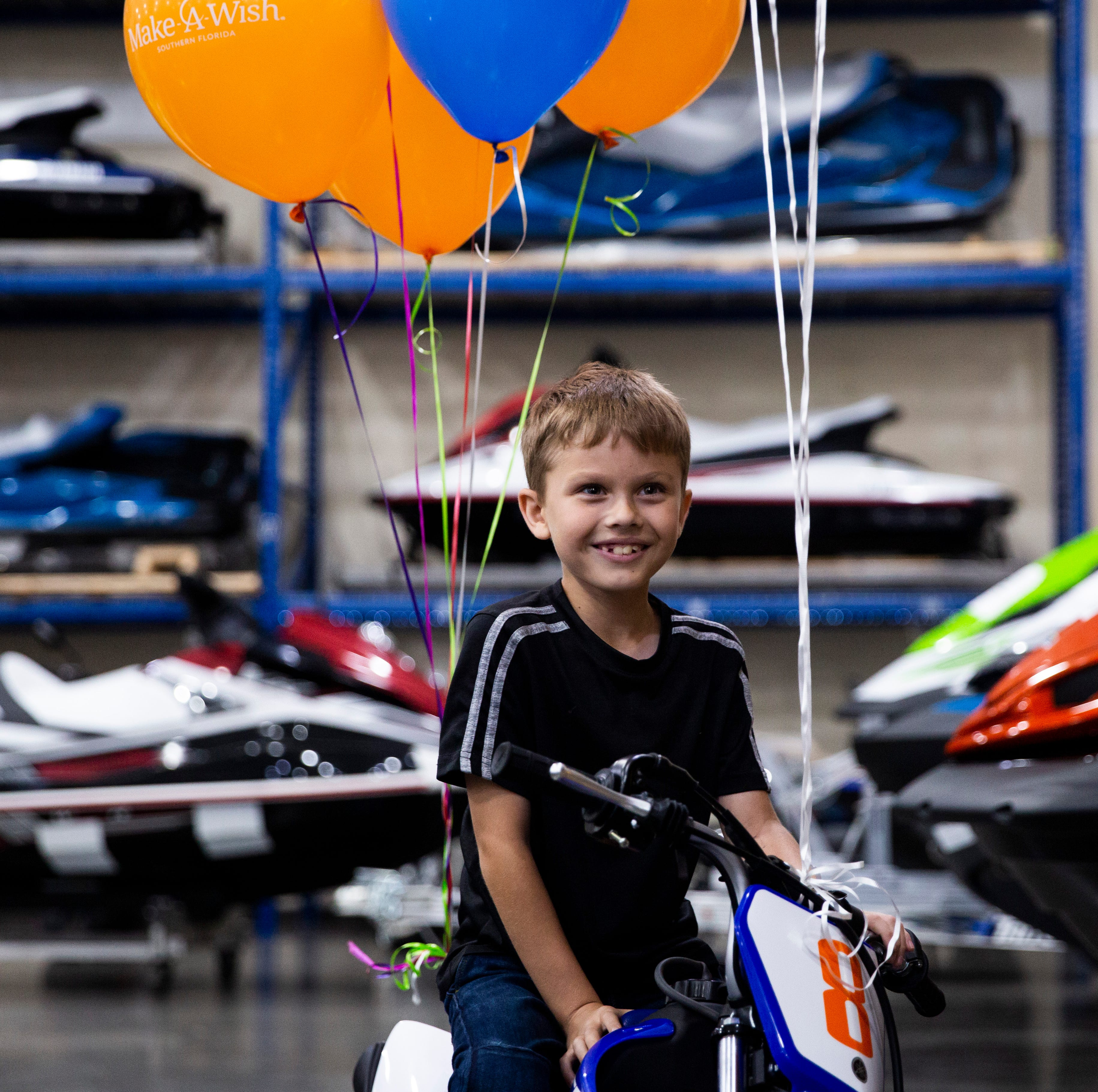 Make-A-Wish Foundation grants Fort Myers boy's dirt bike wish