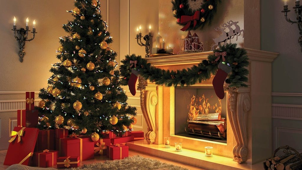 Having a Christmas tree is not as traditional as you think it is
