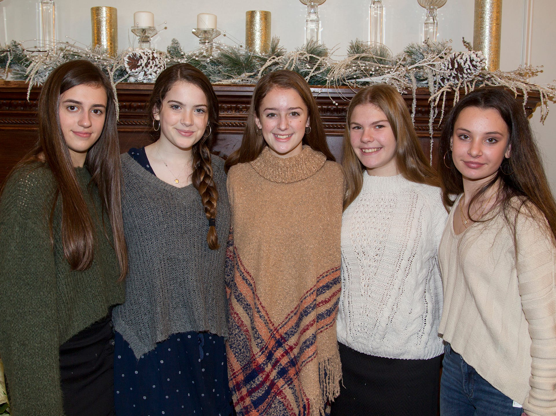 Danielle, Krista, Jenn, Cathy, Jenna. Immaculate Heart Academy held its annual Fashion Show fundraiser at Florentine Gardens in River Vale. 12/02/2018