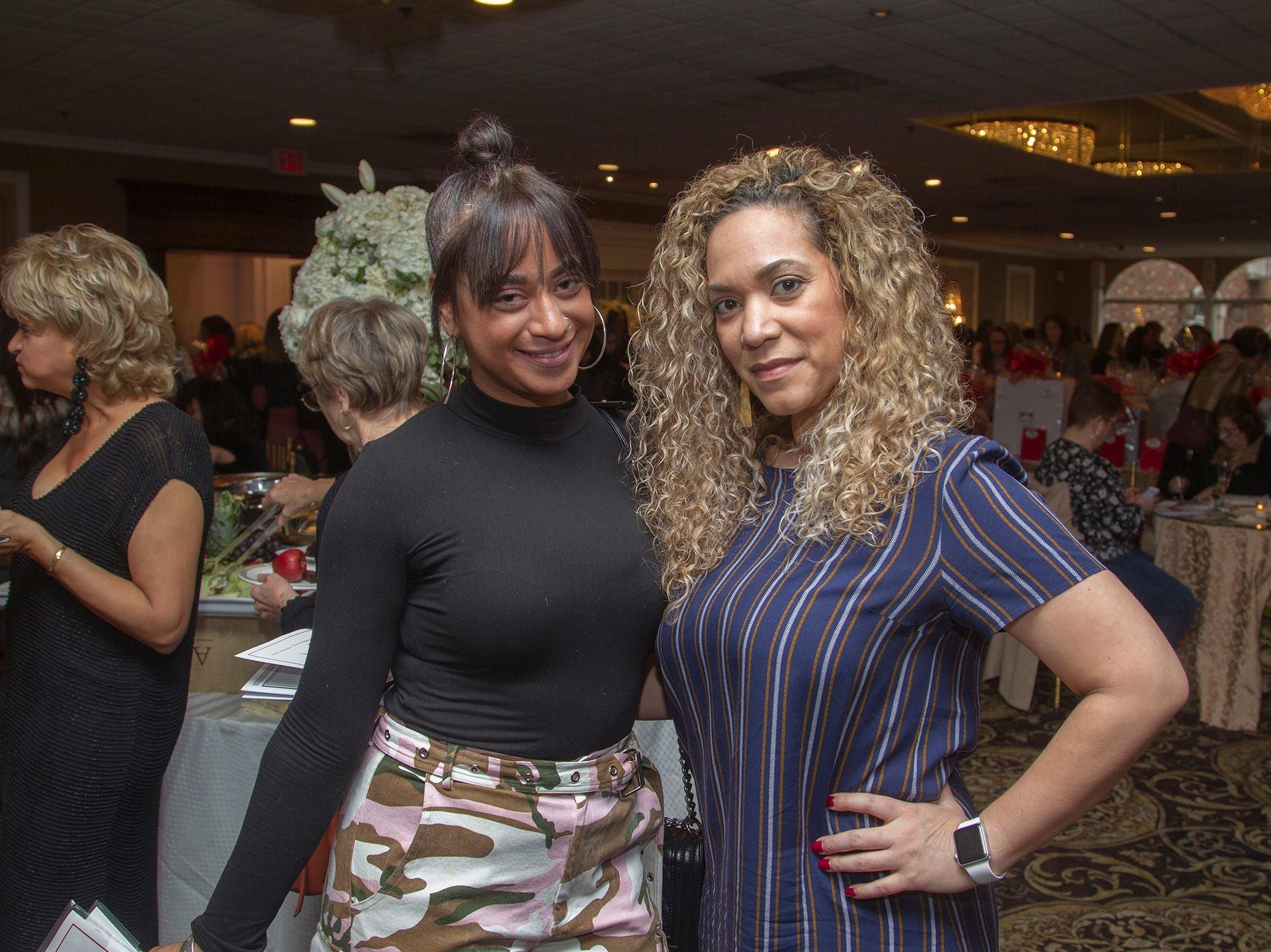 Carolyn Carpenas, Cecilia Alvarez. Immaculate Heart Academy held its annual Fashion Show fundraiser at Florentine Gardens in River Vale. 12/02/2018