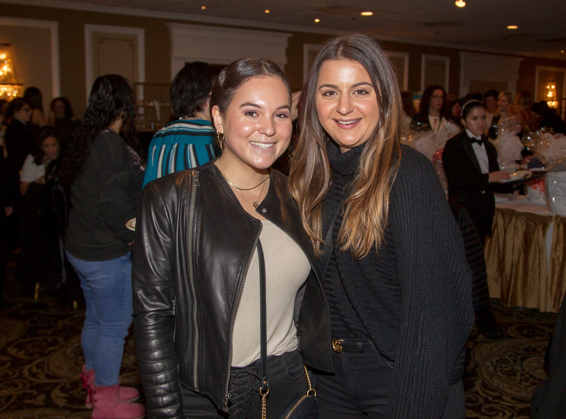 Christina Kourdelis, Calli Carfello. Immaculate Heart Academy held its annual Fashion Show fundraiser at Florentine Gardens in River Vale. 12/02/2018