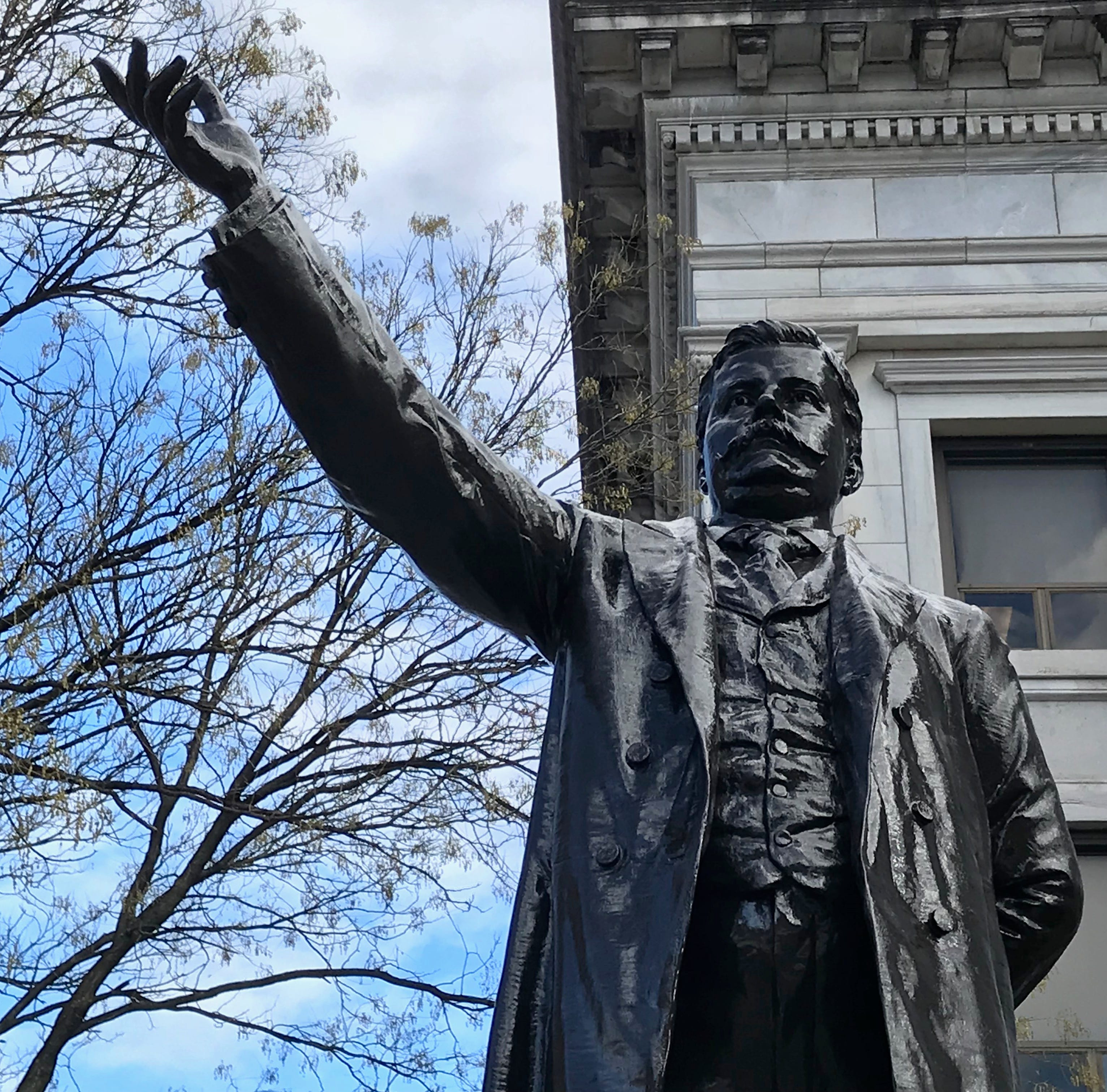 Luster restored on two statues memorializing leaders from Paterson