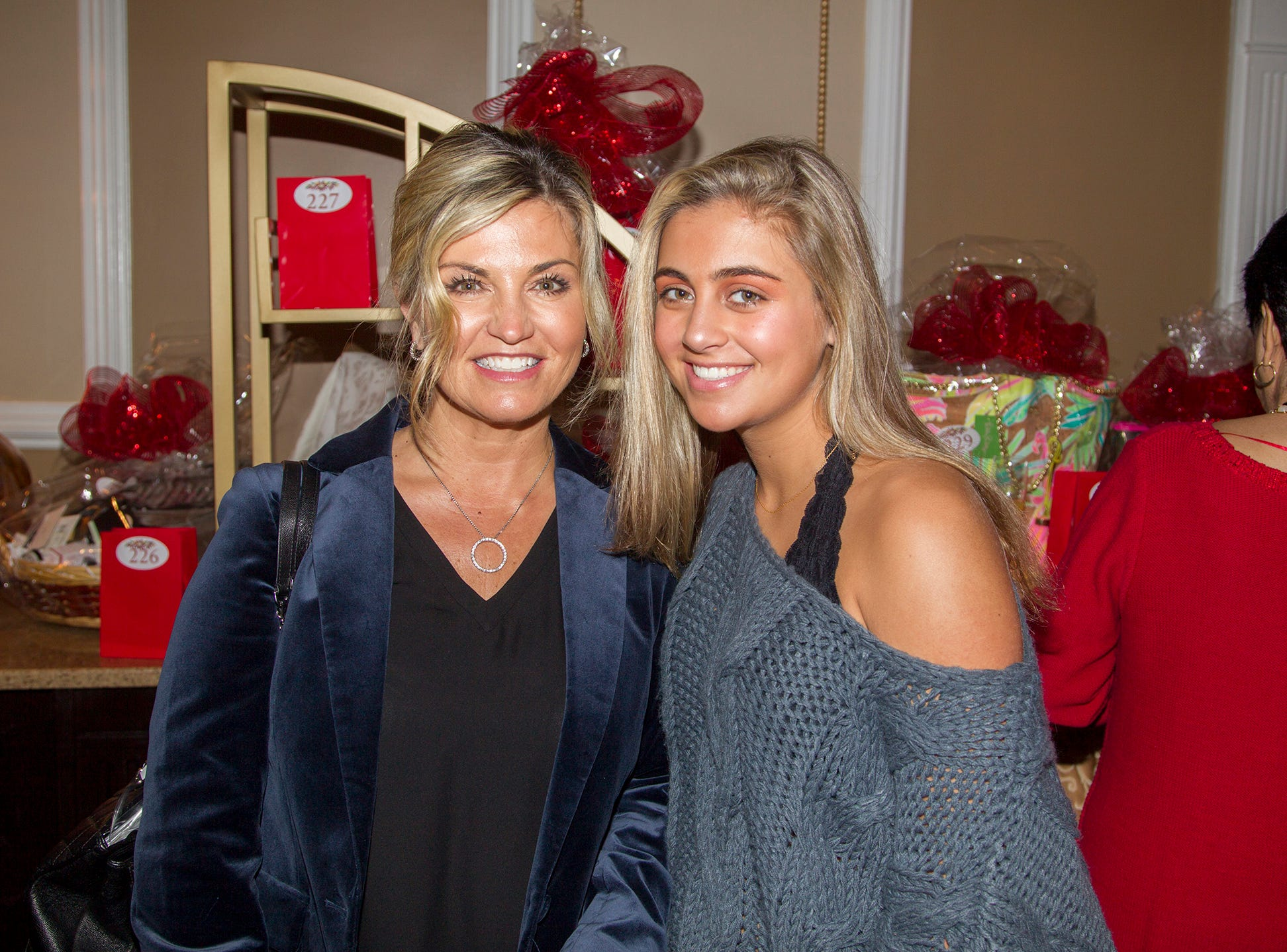 Pam and Brooke Muller. Immaculate Heart Academy held its annual Fashion Show fundraiser at Florentine Gardens in River Vale. 12/02/2018
