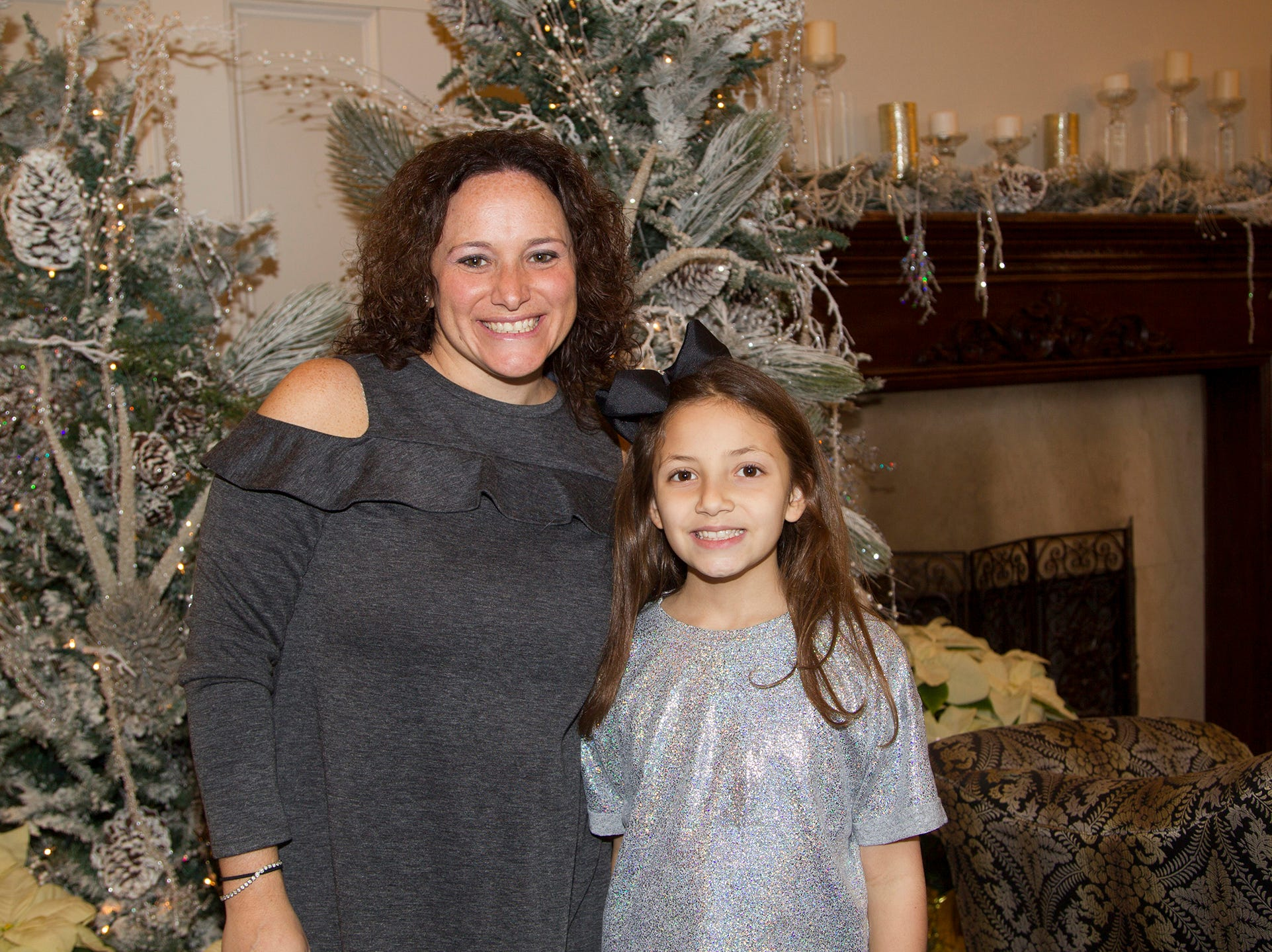 Melissa and Addison O'Sullivan. Immaculate Heart Academy held its annual Fashion Show fundraiser at Florentine Gardens in River Vale. 12/02/2018