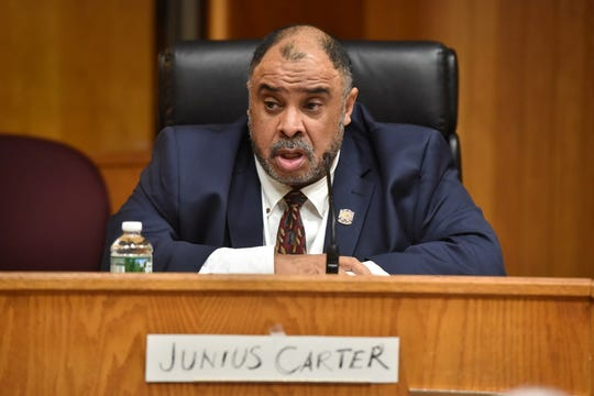 """Junius """"Jeff"""" Carter has been elected the new president of the Bergen County Chapter of the NAACP."""
