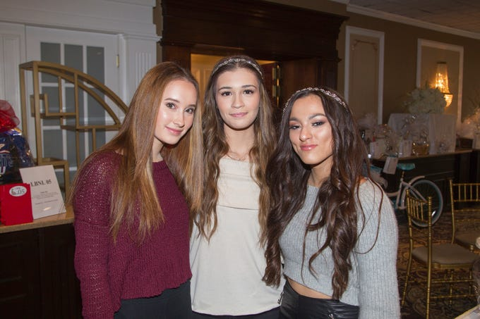 Krissalyn, Megan, Maggie. Immaculate Heart Academy held its annual Fashion Show fundraiser at Florentine Gardens in River Vale. 12/02/2018