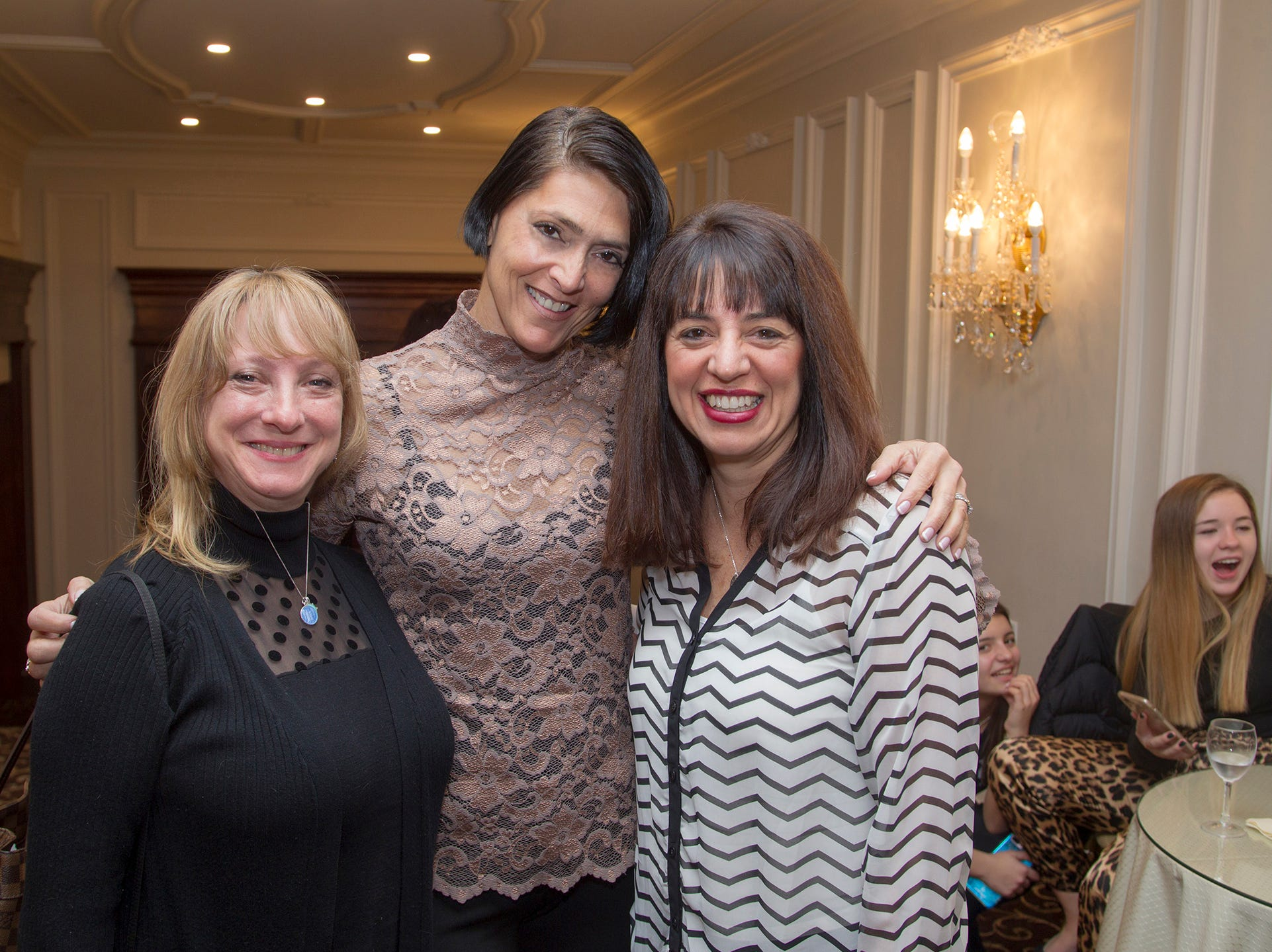 Andee Post, Glynnis Doda, Jackie Woods. Immaculate Heart Academy held its annual Fashion Show fundraiser at Florentine Gardens in River Vale. 12/02/2018