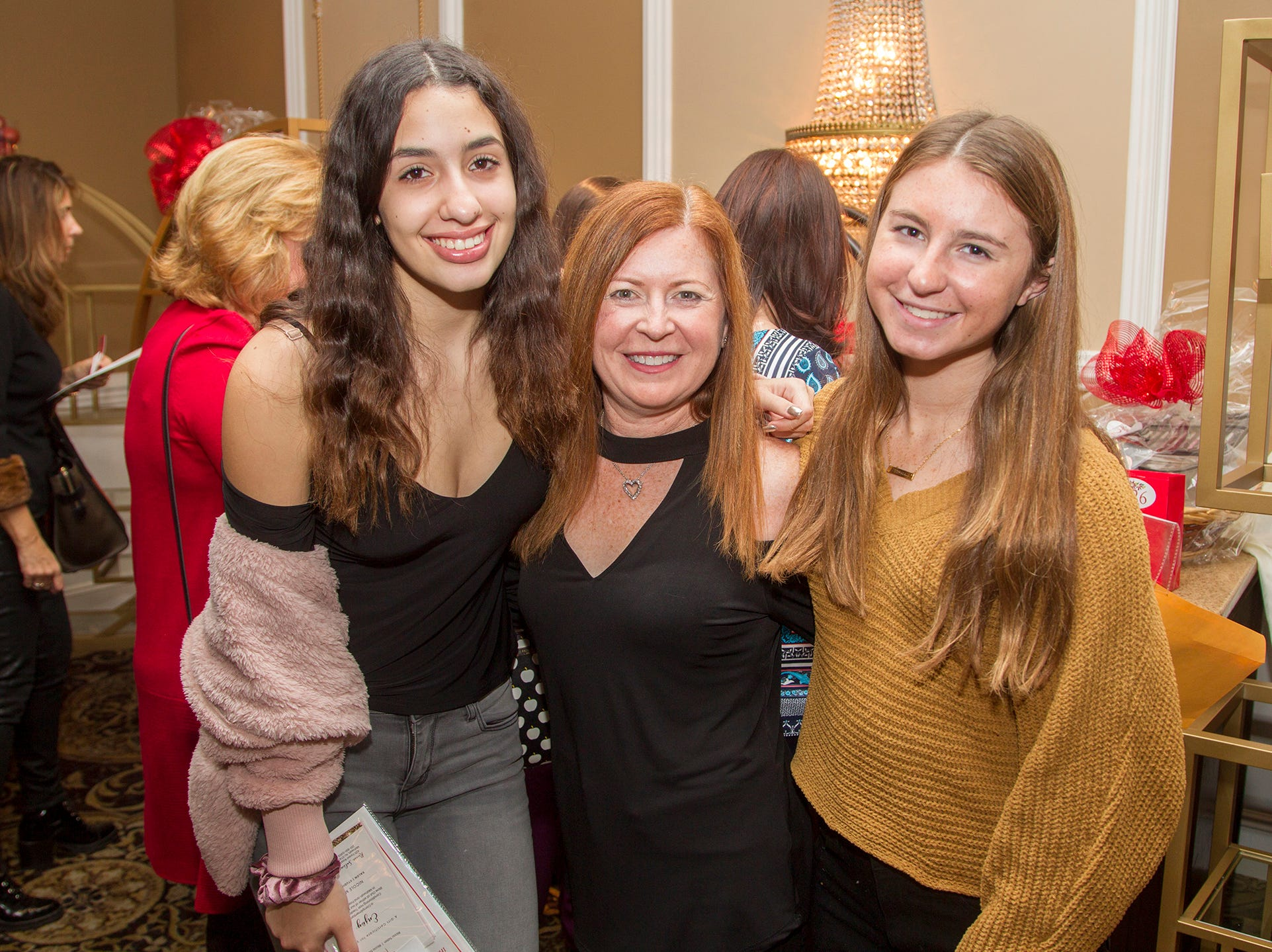 Remi, Larissa Miller, Sophia. Immaculate Heart Academy held its annual Fashion Show fundraiser at Florentine Gardens in River Vale. 12/02/2018