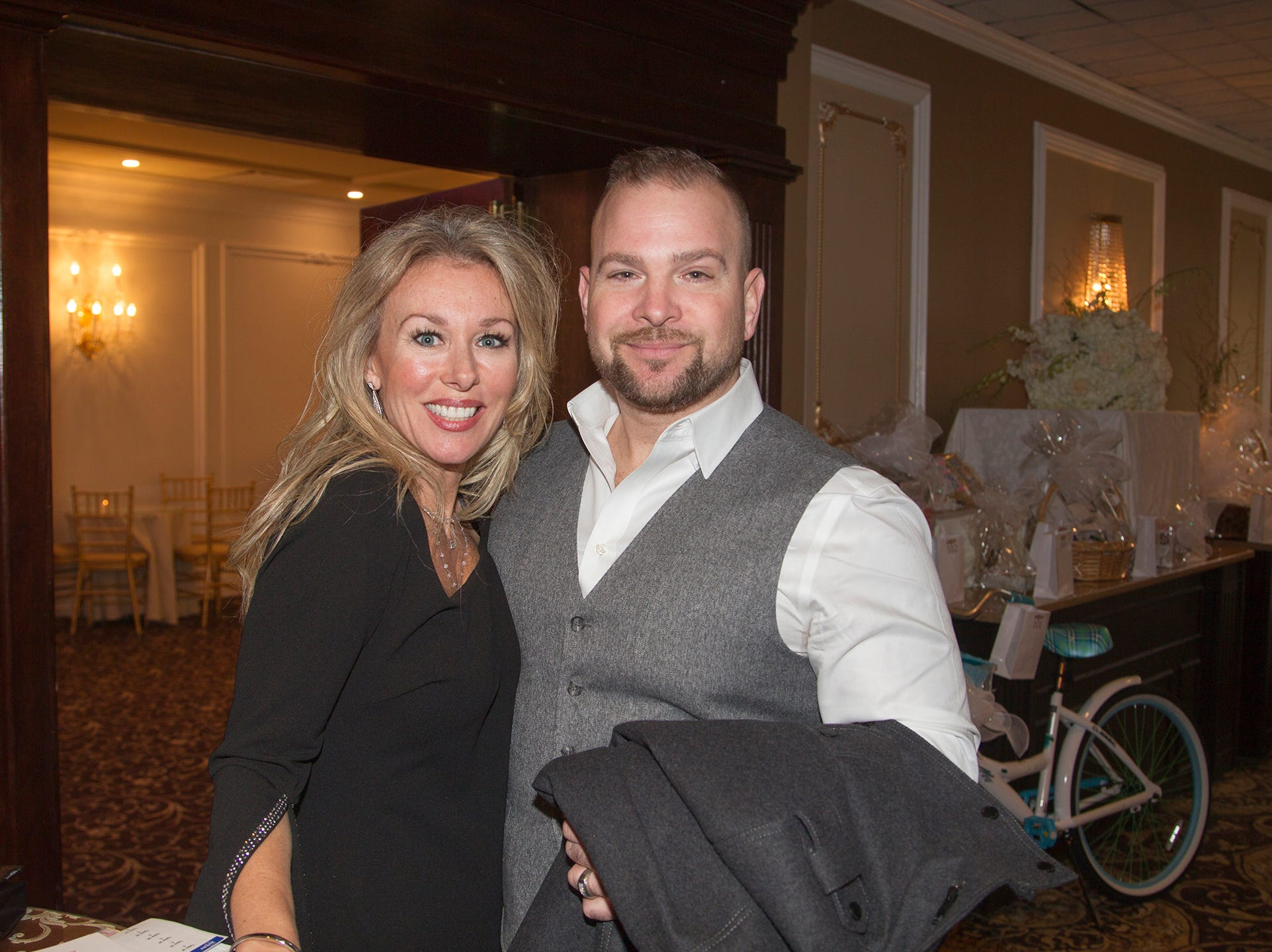Fisclla and Joe Mashenka. Immaculate Heart Academy held its annual Fashion Show fundraiser at Florentine Gardens in River Vale. 12/02/2018