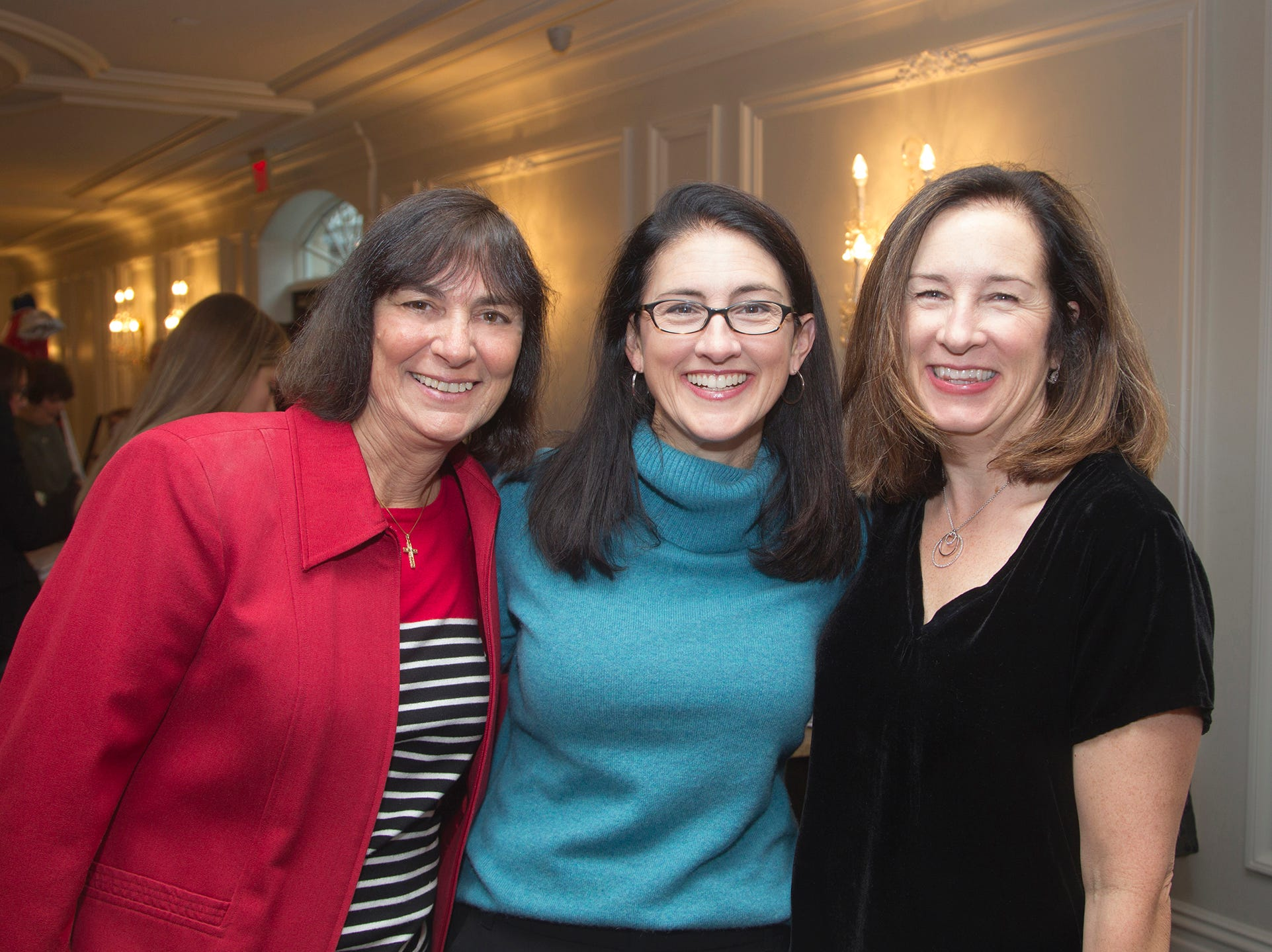 Beth Garrigan, Jenn Hill, Claire O'Toole. Immaculate Heart Academy held its annual Fashion Show fundraiser at Florentine Gardens in River Vale. 12/02/2018