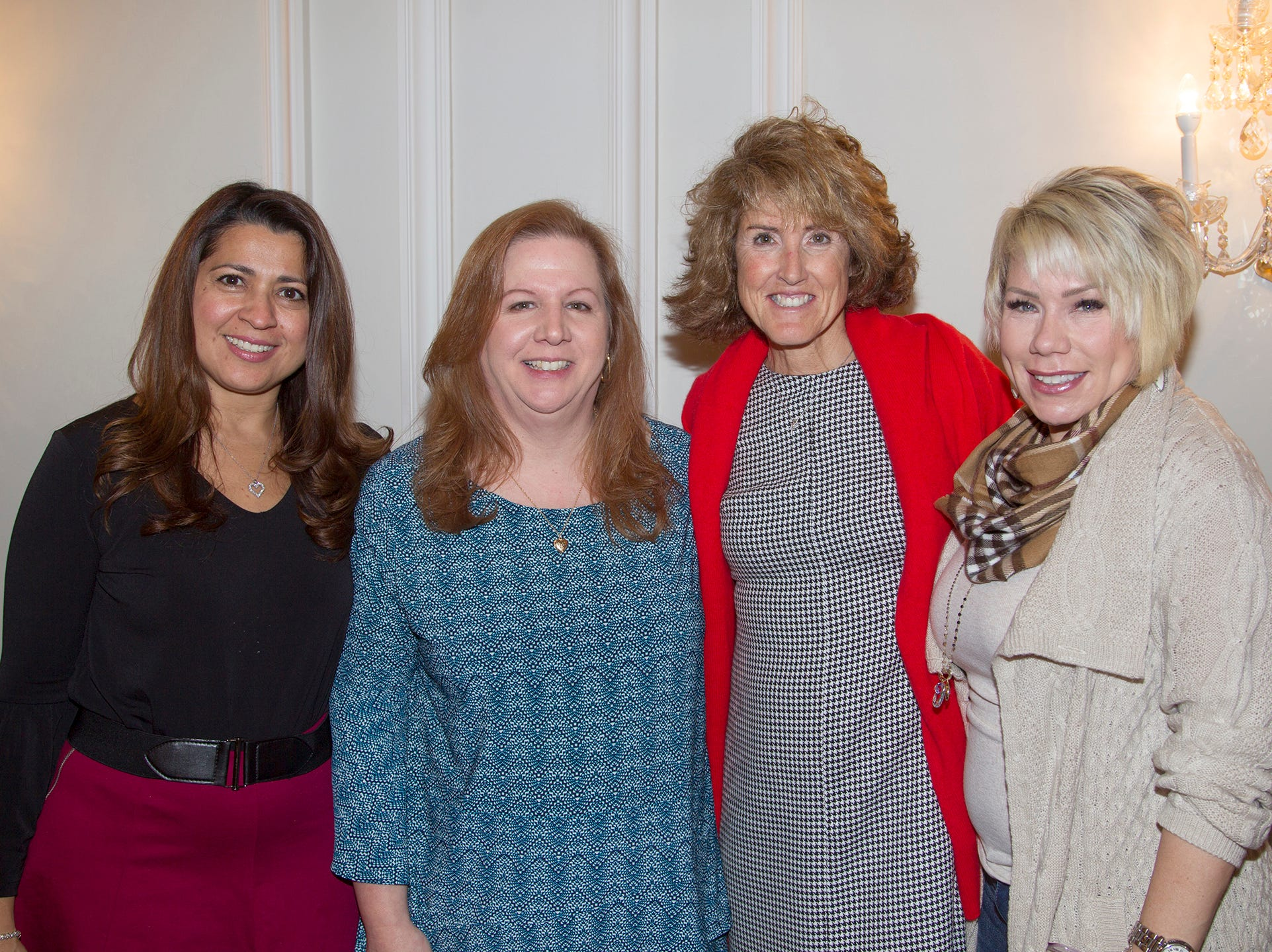Katia Carrozza, Kipp Yapaola, MaryAnn Maurer, Gloria Amorosa. Immaculate Heart Academy held its annual Fashion Show fundraiser at Florentine Gardens in River Vale. 12/02/2018