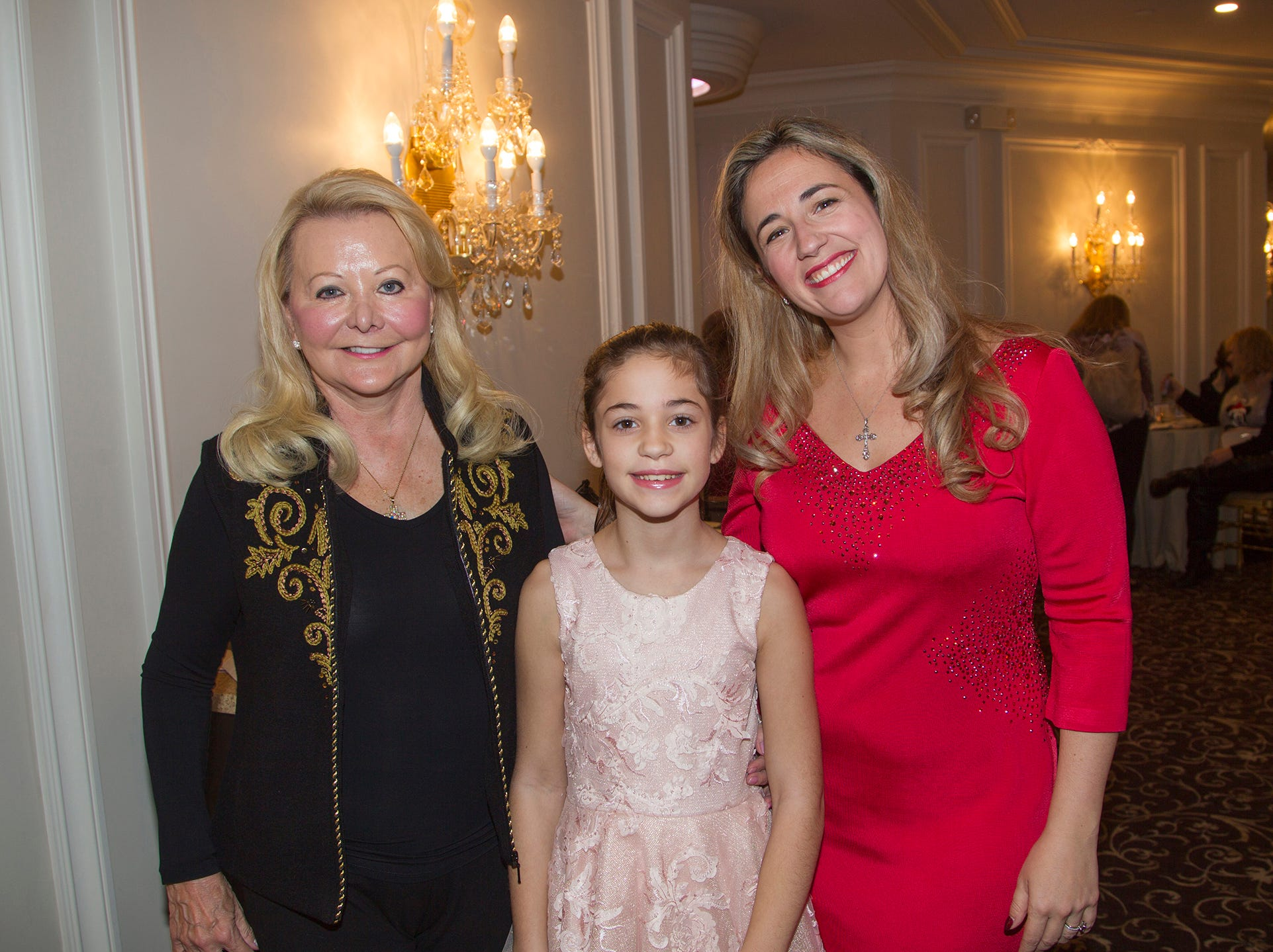 Janet Martin, Lily, Amy Rose Taylor. Immaculate Heart Academy held its annual Fashion Show fundraiser at Florentine Gardens in River Vale. 12/02/2018