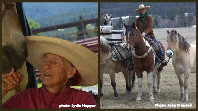 Bernice Ende, Lady Long Rider, will give a presentation Dec. 10 in Silver City