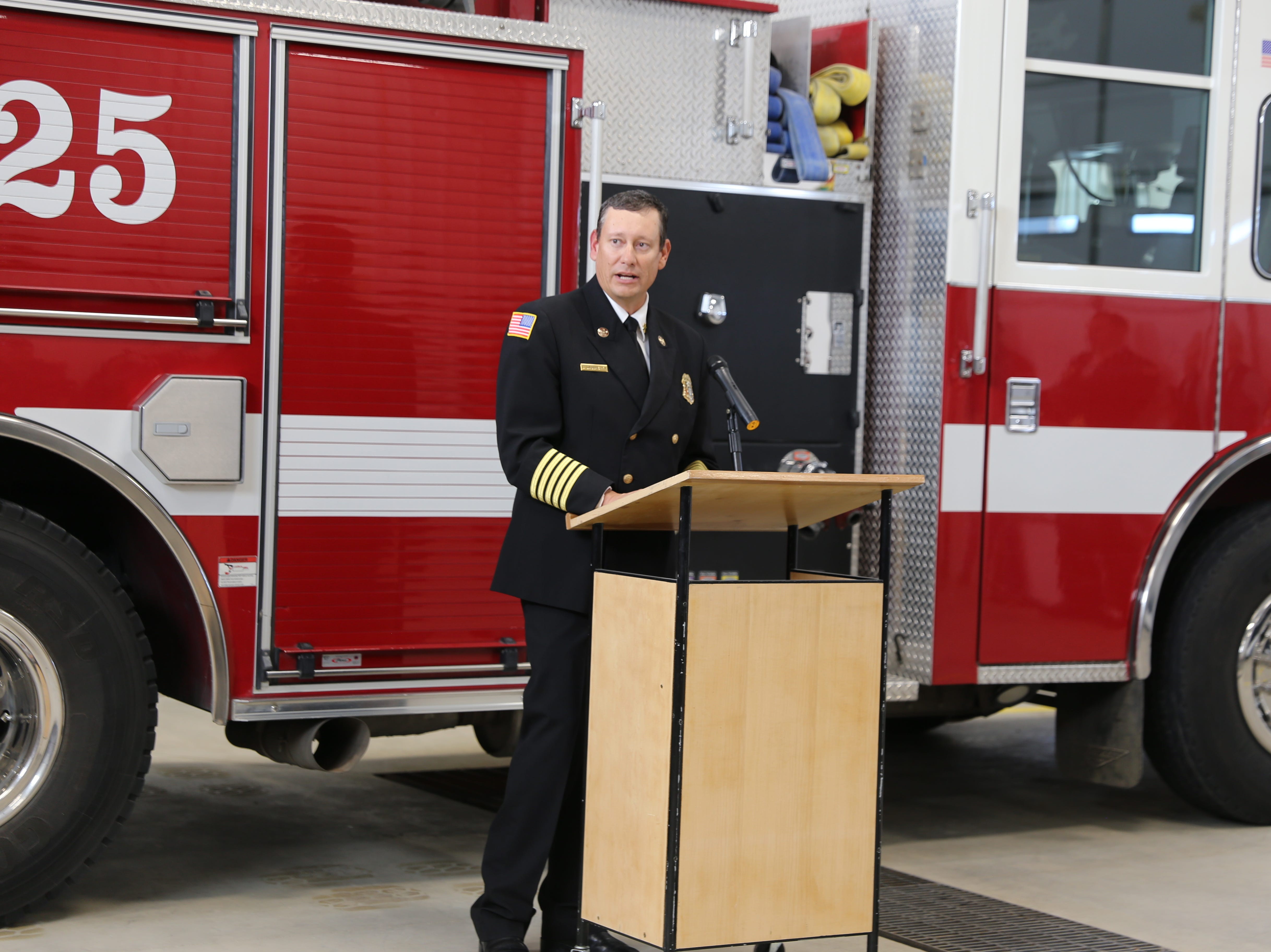 County celebrates opening of newest fire station