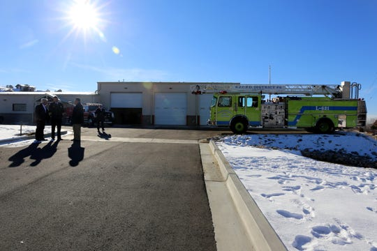 The newest San Juan County Fire Station, Lee Acres Fire Station No.  2, is located on County Road 5500 in West Hammond.