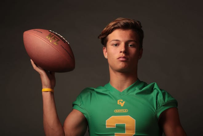 Coachella Valley football player Donny Fitzgerald on Tuesday, December 4, 2018 in Palm Springs.