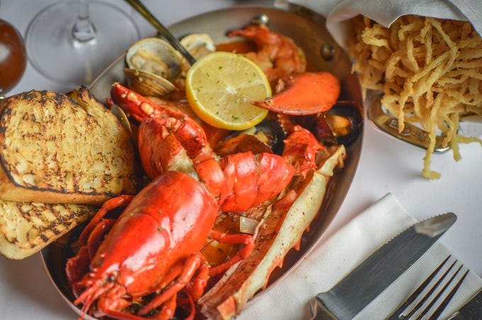 New England lobster bake at Ocean 44 in Scottsdale.