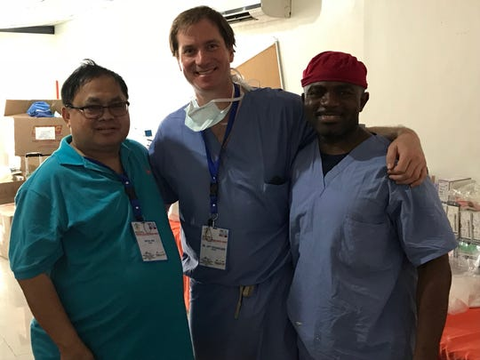 Dr. Michaelson and Dr. Nwosu each performed several surgeries utilizing the donated implants they brought along with them for this mission trip.