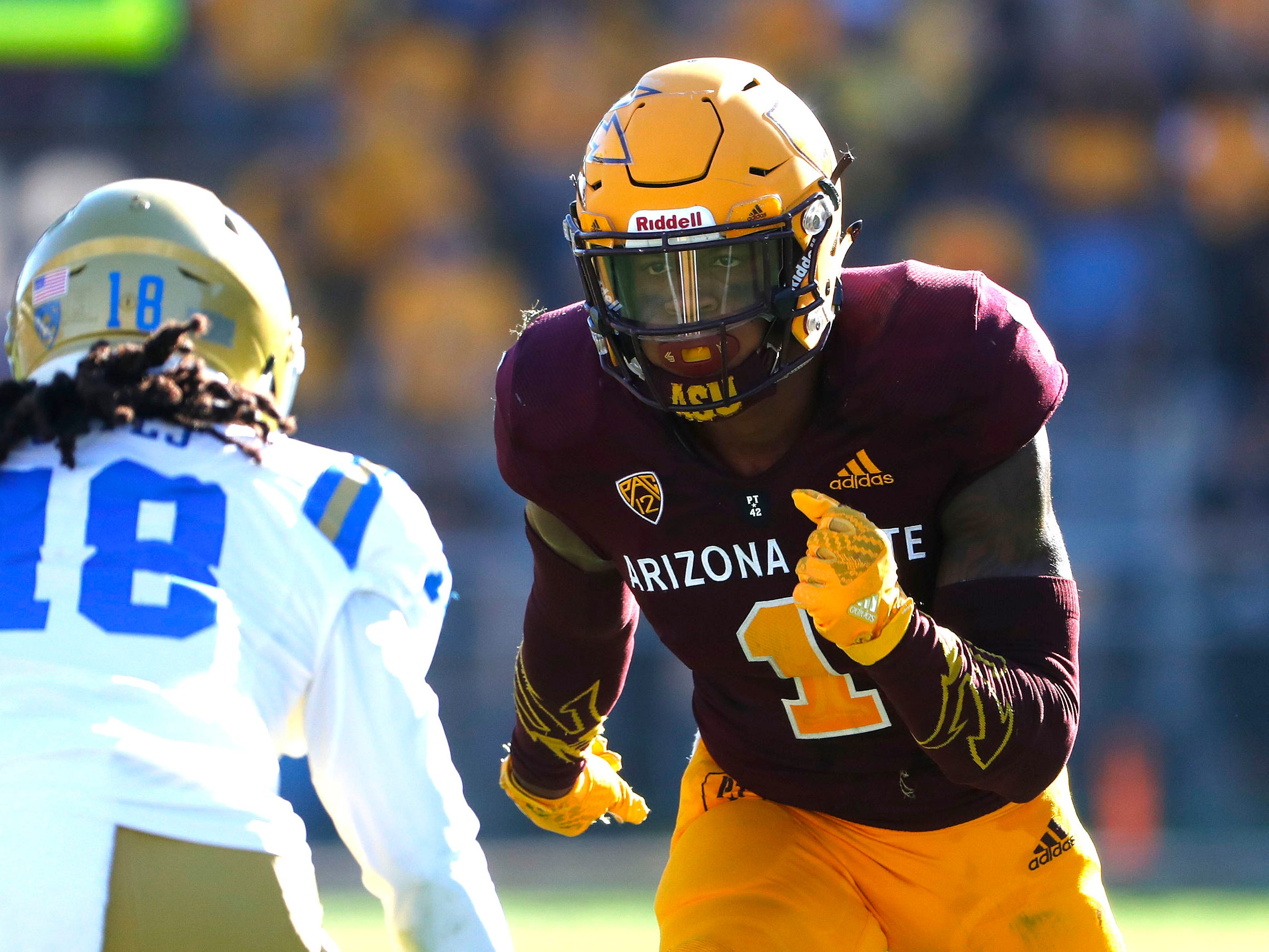 Arizona State receiver N'Keal Harry.