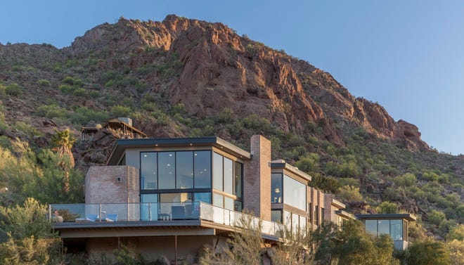 NRMT3 Arizona Property Management, LLC, an Arizona limited liability company, purchased this four bedroom and 4.5 bathroom house within Paradise Valley's Sanctuary Resort community on Camelback Mountain.