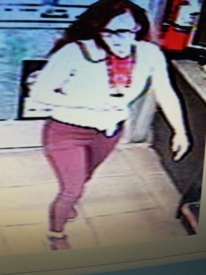 Surveillance video showing Harmon entering a Buckeye Circle K in Aug. suspected of stealing lottery tickets.