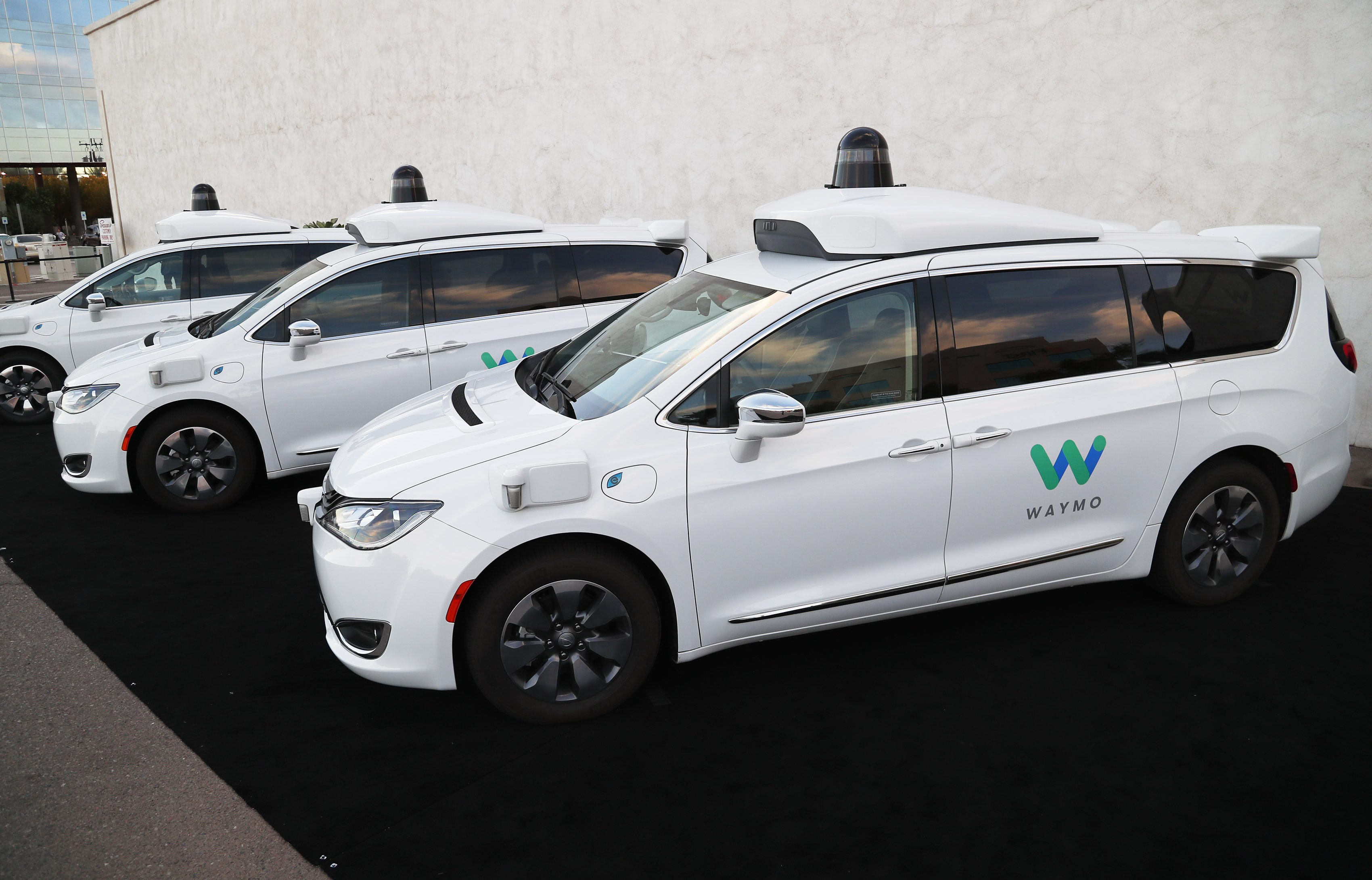 Phoenix Waymo vans: How the self-driving cars operate on roads