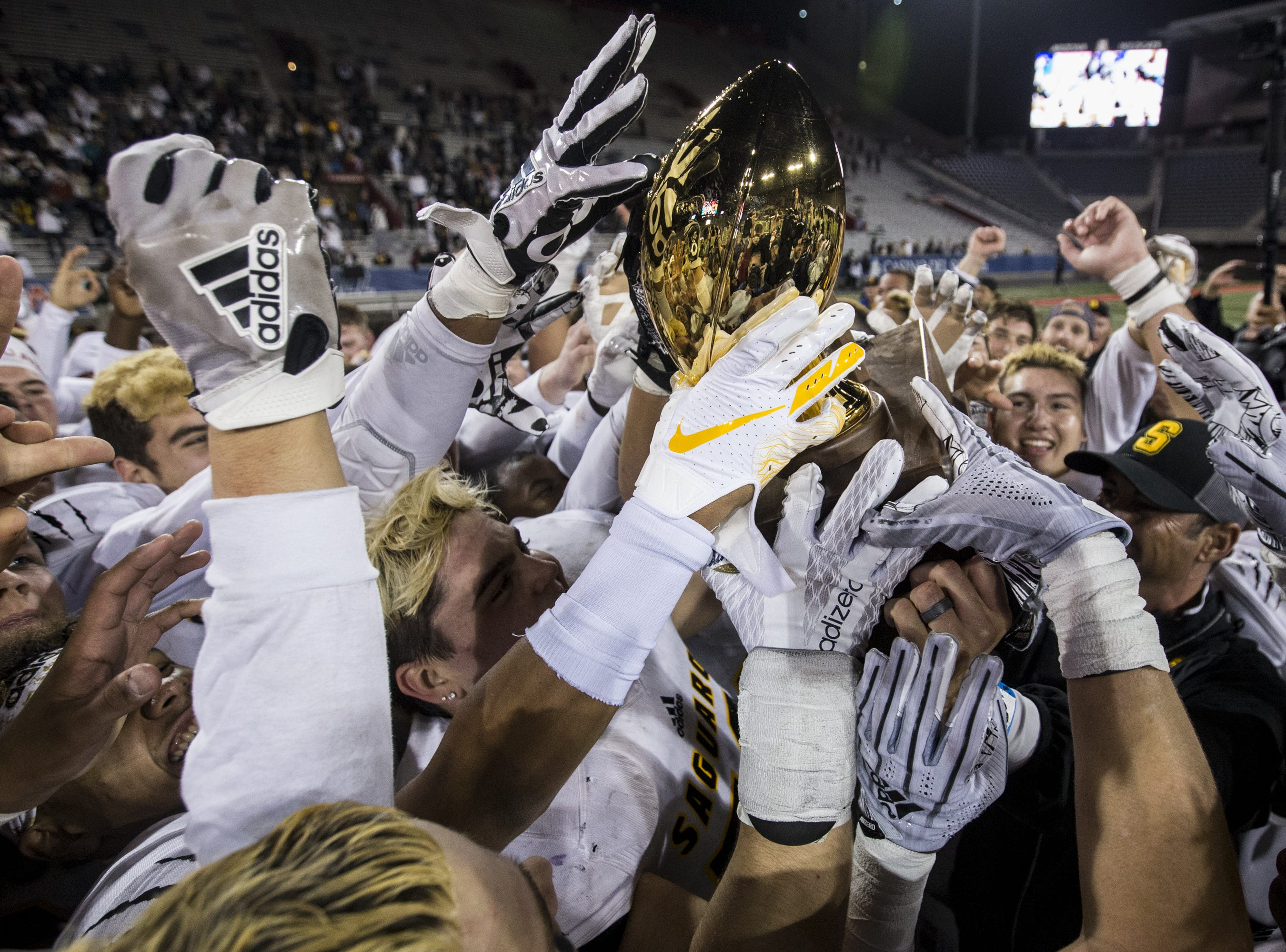 Saguaro High has now won six straight state championships.