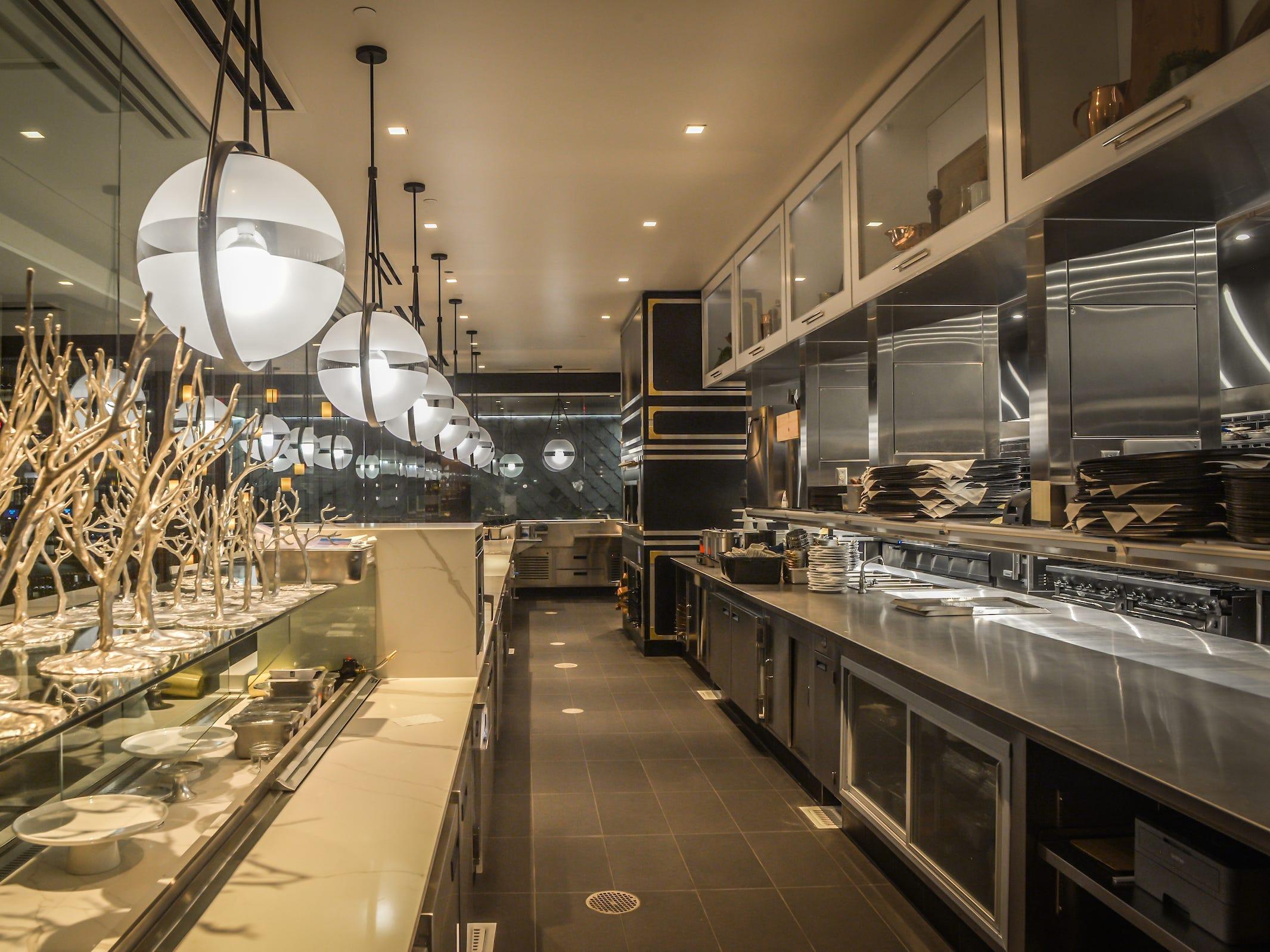 The kitchen inside Ocean 44 in Scottsdale.