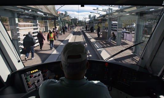 Light rail first day