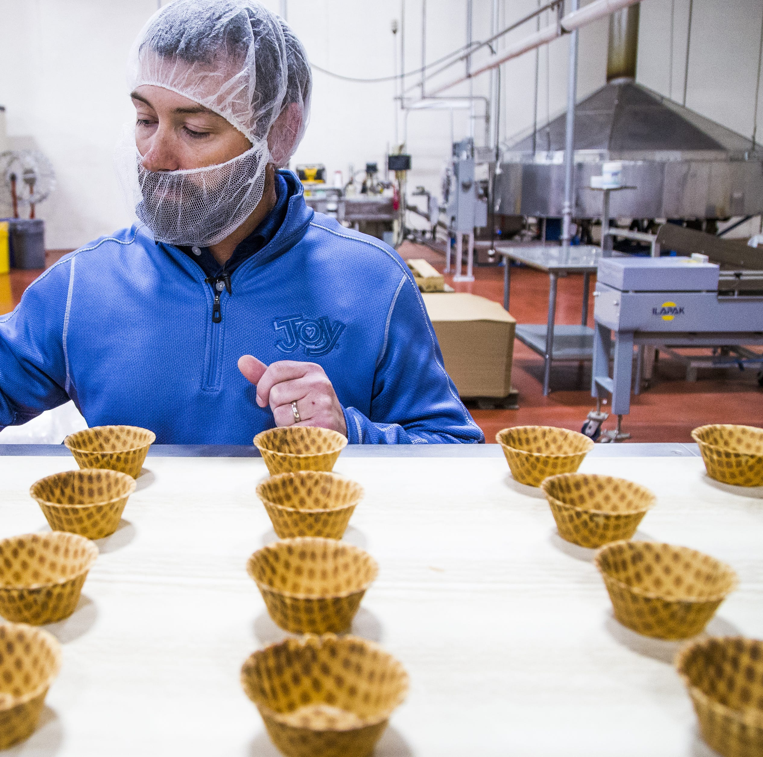Behind the scenes: Joy Cone in Flagstaff, world's largest ice cream cone manufacturer