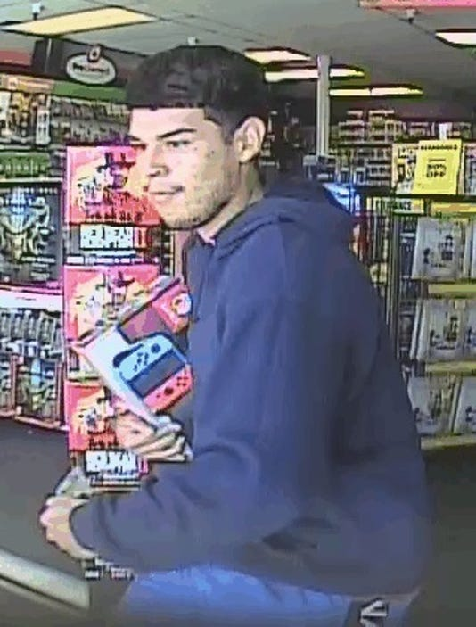 Suspect sought in Nintendo Switch theft at Tucson GameStop