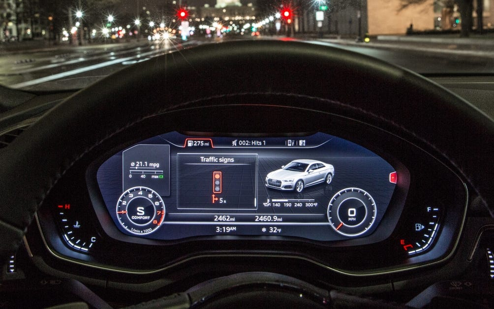 Small Audi Expands Traffic Light Information To Washington D C 3947