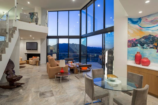 This house within Paradise Valley's Sanctuary Resort community on Camelback Mountain was rebuilt from its original slab in 2012.