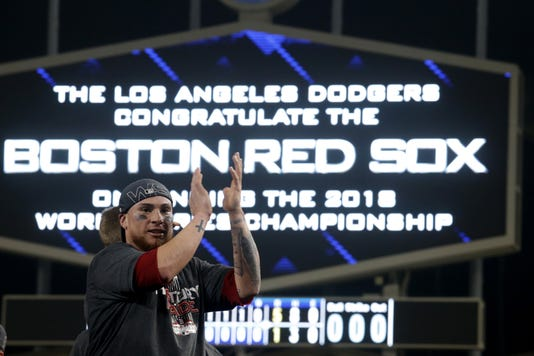 World Series Boston Red Sox V Los Angeles Dodgers Game Five
