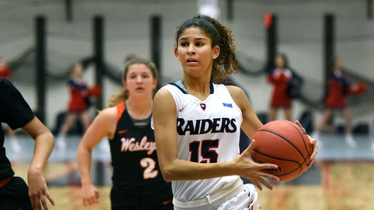 Cedar Crest grad Ariel Jones, a sophomore guard, is averaging 25.4 points per game for the Shippensburg University women's basketball team.
