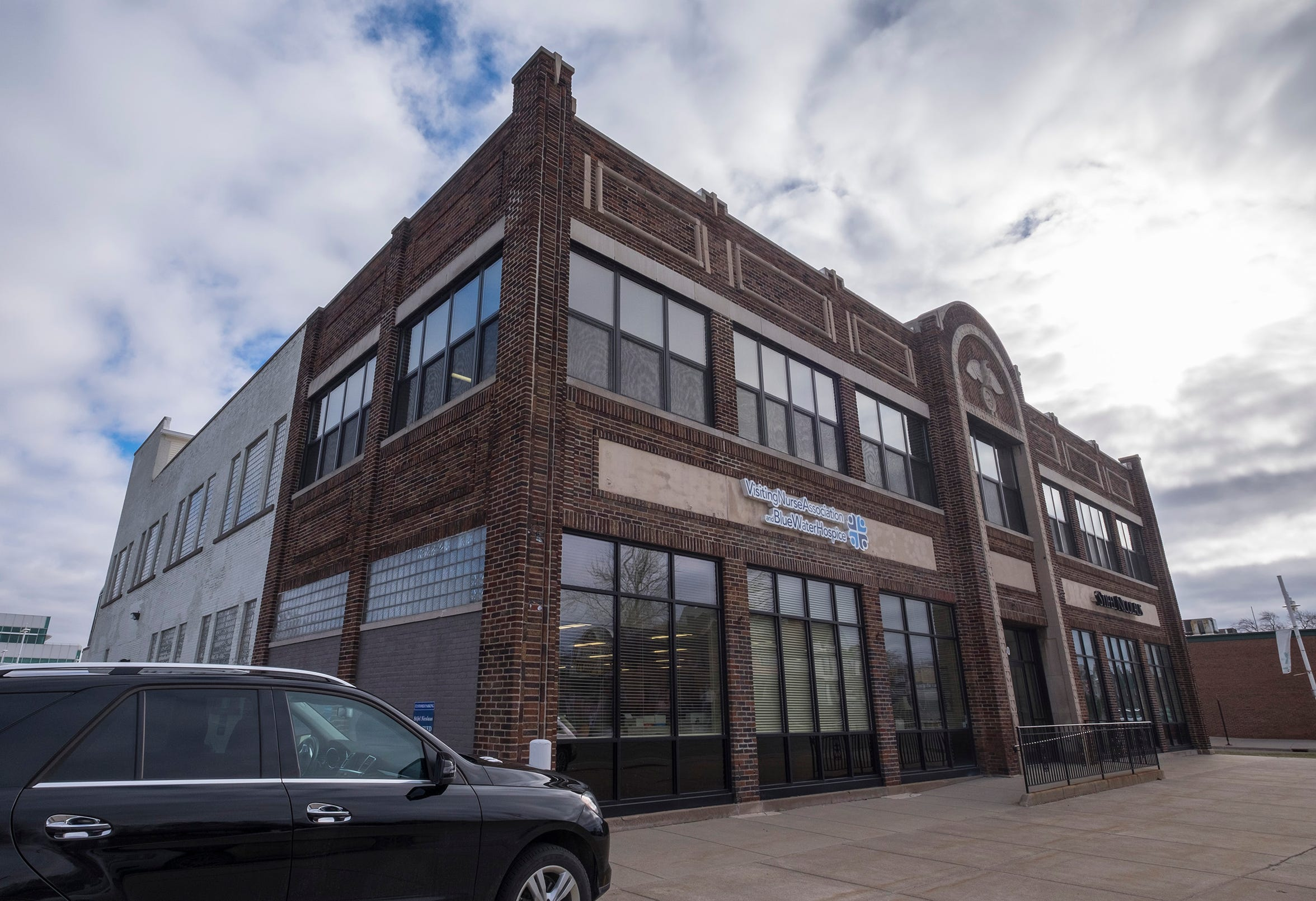 The Parfet Office Building, 1430 Military St. in Port Huron, is one of the properties listed for sale by Acheson Ventures.