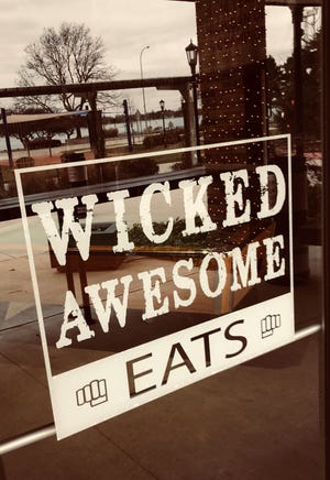 Wicked Awesome Easts opened up inside War Water Brewer in St. Clair's Riverview Plaza. Unlike the previous restaurant that opened and closed earlier this year, this food option is under the brewery's management.