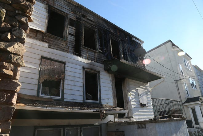 61 Academy Street in the City of Poughkeepsie on December 4, 2018. A fire early on Monday severely damaged the property and claimed the lives of 4 inhabitants.