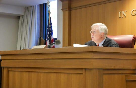 Dutchess County Court Judge Peter Forman on Dec. 4, 2018.