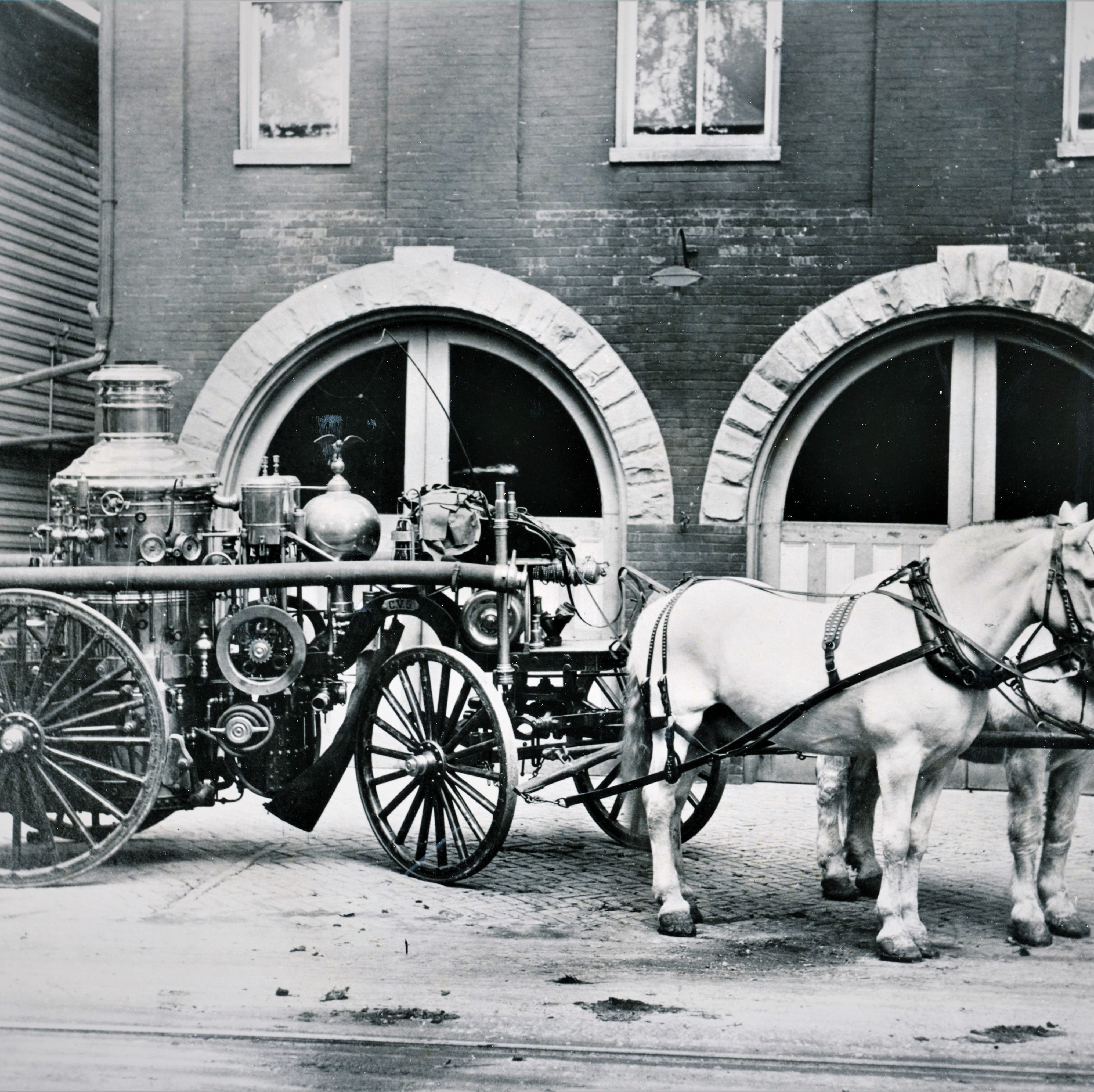 'Ever faithful': Meet the horses that once powered Chambersburg's fire companies