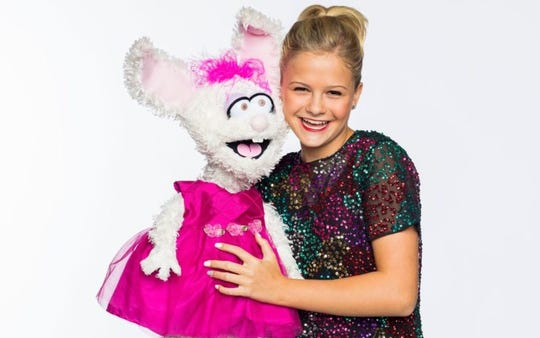 Young ventriloquist Darci Lynne Farmer, 14, will perform at the York Fair grandstand Sept. 7, 2019. Farmer became famous after winning the twelfth season of America's Got Talent on NBC.