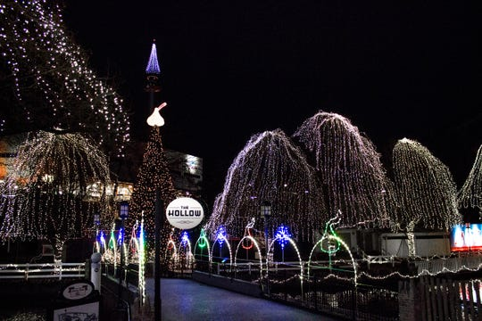 During the holidays, Hersheypark becomes a winter wonderland called Christmas Candylane.